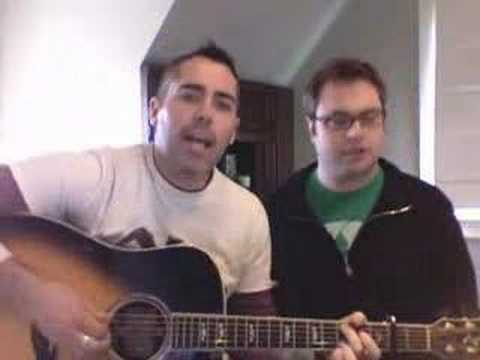 My favourite version of One Week by the barenaked Ladies was recorded in their bathroom