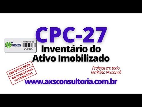 CPC27 - Inventario Físico Avaliação Patrimonial Inventario Patrimonial Controle Patrimonial Controle Ativo