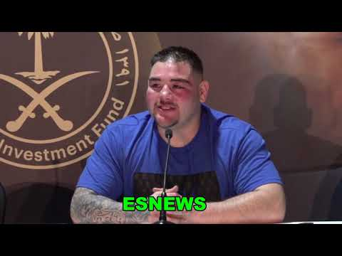 """Andy Ruiz VERY CANDID """"The Three Months of Partying Did Effect Me """" EsNews Boxing"""