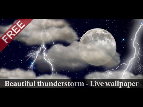 Video of The real thunderstorm - LWP