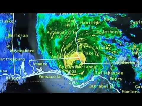 Hurricane Michael becomes Category 1 storm as it heads toward Georgia  HD Mp4 3GP Video and MP3