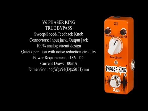 XVive V6 Phaser King - Muziker UK