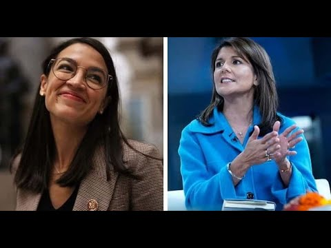 AOC Scorches Nikki Haley Without Even Trying