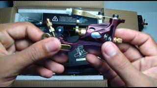 unboxing Dragonhawk Complete Tattoo Kit 2 Pro Machines Rotary Gun