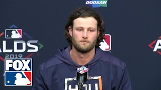 Gerrit Cole full post-game press conference after historic 15-strikeout performance | FOX MLB