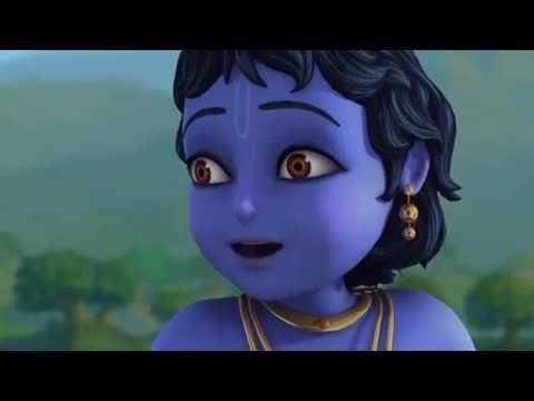 Кришна во Вриндаване  Часть 2  Без демонов  Добрый мультик для детей 2018