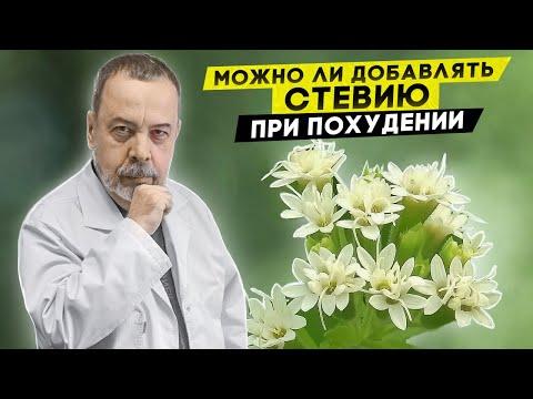 Диетолог Ковальков  Стевия и ее роль в похудении
