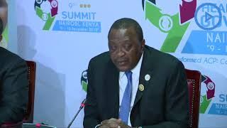 President Uhuru officially closes ACP Summit