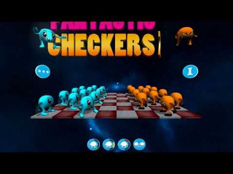 Video of Fantastic Checkers Free 2