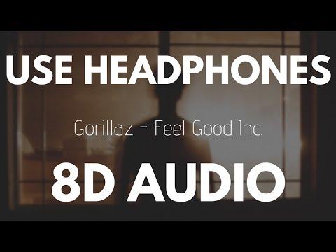 Gorillaz - Feel Good Inc. (8D AUDIO)