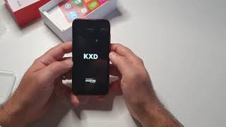 Mobile Phone KXD A1 box content and first impression