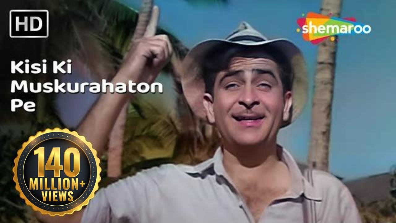 Kisi Ki Muskurahaton Pe Ho Nisar Lyrics Hindi English