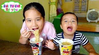 TRÒ CHƠI BÁN Mì TÔM ĂN SÁNG|games for selling instant noodles, breakfast🏠Giải trí cho Bé yêu