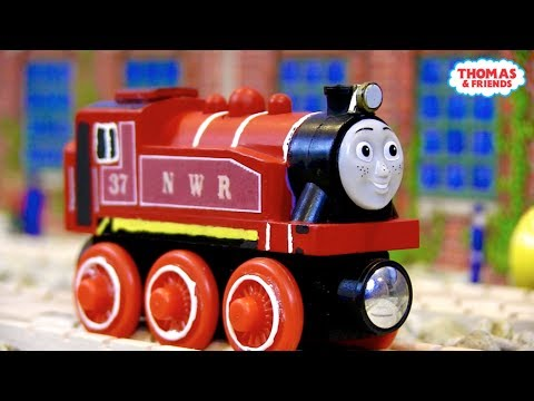 NWR Red Rosie | Custom Thomas Wooden Railway Model #5 by DomelessEngine