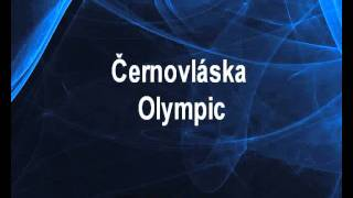 Černovláska - Olympic Karaoke tip