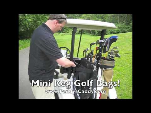 Hidden Beer Tap in Golf Bag