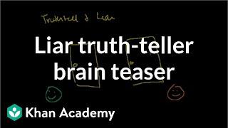 Liar Truthteller Brain Teaser