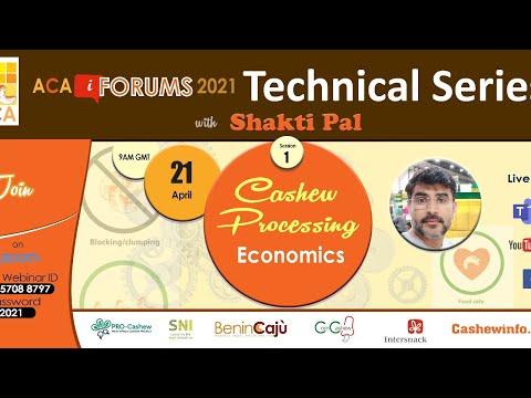 , title : 'Technical Series - Cashew Processing Economics - Session 1  :: 21 April 2021 :: Live