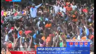 NASA leaders accuse Jubilee of frustrating devolution in the country