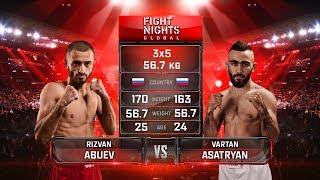 Вартан Асатрян vs. Ризван Абуев / Vartan Asatryan vs. Rizvan Abuev