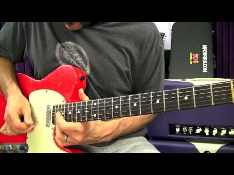 Blues Rock Guitar Lessons - Free Blues Rock Riffs Lesson