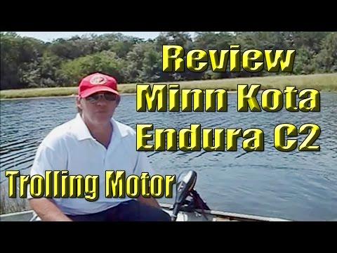 Minn Kota Endura C2 30 lb  Thrust Trolling Motor Review
