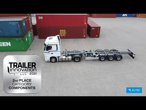 Video bij:17 Nieuwe D-TEC containerchassis voor Van der Most