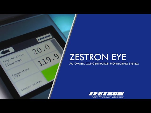 ZESTRON® EYE is a digital monitoring system that enables the precise measurement and control of the cleaning bath concentration for electronics cleaning processes in real time even in presence of dissolved contaminations.