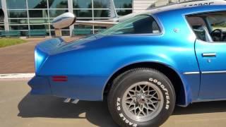 1978 Pontiac Trans Am 403 Shaker T/A