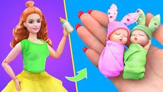12 DIY de Truques e Artesanatos de Bonecas / Bebê em Miniatura, Talco de Bebê, Fraldas e muito mais!