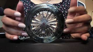 ASMR Textured Glass/ Perfume Bottle Fast Tapping/Scratching