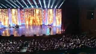 Таня и Егор Крид, встреча фанатки и её кумира ч 2 на концерте О чём поют мужчины 22 02 16