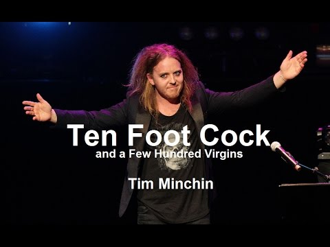 Tim Minchin: Třímetrové péro a pár set panen