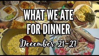 What's For Dinner   Family Meal Ideas