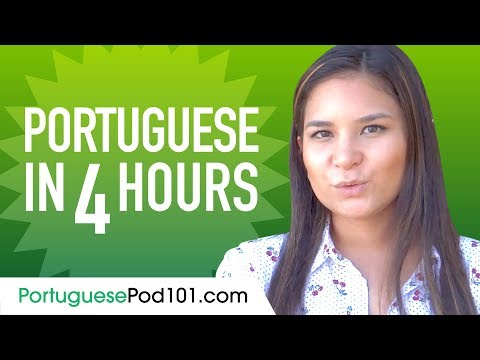 Learn Portuguese in 4 Hours - ALL the Portuguese Basics You ...