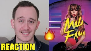 DANNA PAOLA   MALA FAMA (REACTION)