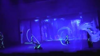 preview picture of video 'Black Light Show ETERE in hotel Gloria(Antalya) 2009'