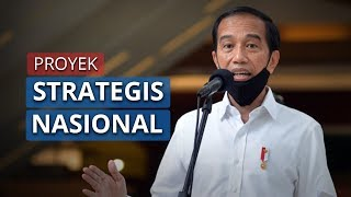 Presiden Jokowi Sebut 245 Proyek Nasional Tetap Lanjut Walau di Tengah Pandemi Covid-19