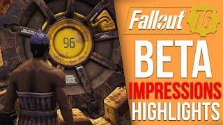 Fallout 76  - My Final BETA Impressions and Highlights