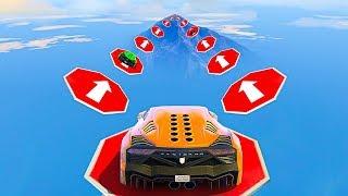 Gambar cover NO CURSING CAR STUNT GAMING CHALLENGE - GTA 5 Funny Moments & Fails Walkthrough & Playthrough