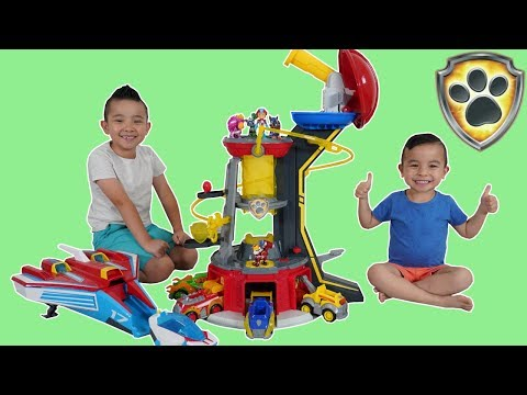 PAW PATROL Mighty Pups Epic Rescue Mission Fun With CKN Toys
