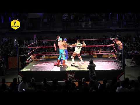 Dual, H de Dos Caras, Brazo de Oro Jr VS Bram, Batab el Guerrero, La Máscara - Nación Lucha Libre