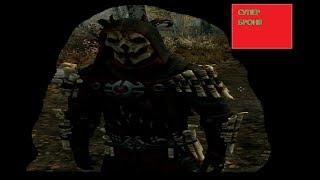 мод на броню и оружие ( Сет Теней ) на скайрим