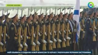 Московский ливень задержал выход президента Кыргызстана из самолета