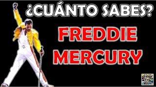 """¿Cuánto Sabes De """"FREDDIE MERCURY""""? Test/Trivial/Quiz"""