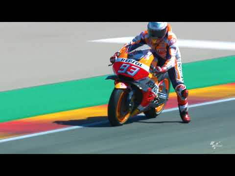 Honda in action: 2018 Gran Premio Movistar de Aragon