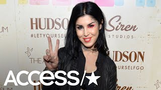 Kat Von D Is Pregnant With Her First Child: 'It's A Boy' | Access - Video Youtube