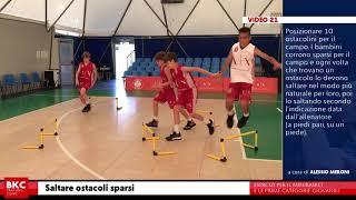 <p>La preparazione fisica nel minibasket</p>