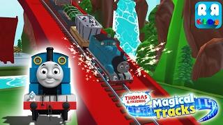 Thomas play in Big Bridge | Thomas and Friends: Magical Tracks - Kids Train Set
