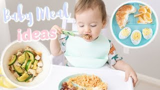 WHAT MY BABY EATS IN A DAY! BABY MEAL IDEAS FOR 1 YEAR OLD